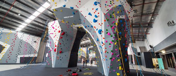 Climbing Wall of Climbfit Kirrawee Gym
