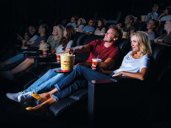 Image of recliner cinema offering at HOYTS Cronulla