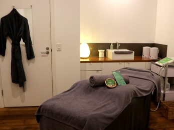 Calm treatment room