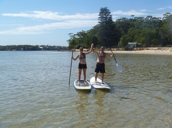 Stand up paddle board hire in Sydney