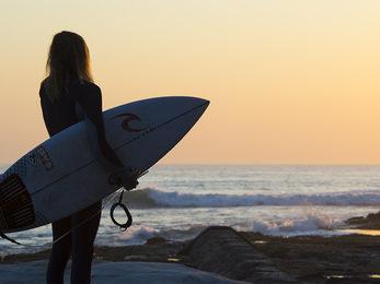 Surfing Cronulla