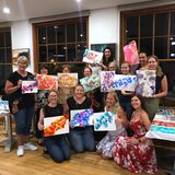 Alcohol Inks Workshops with Lenore