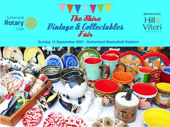 Vintage and Collectables Fair Sutherland 12 September 2021