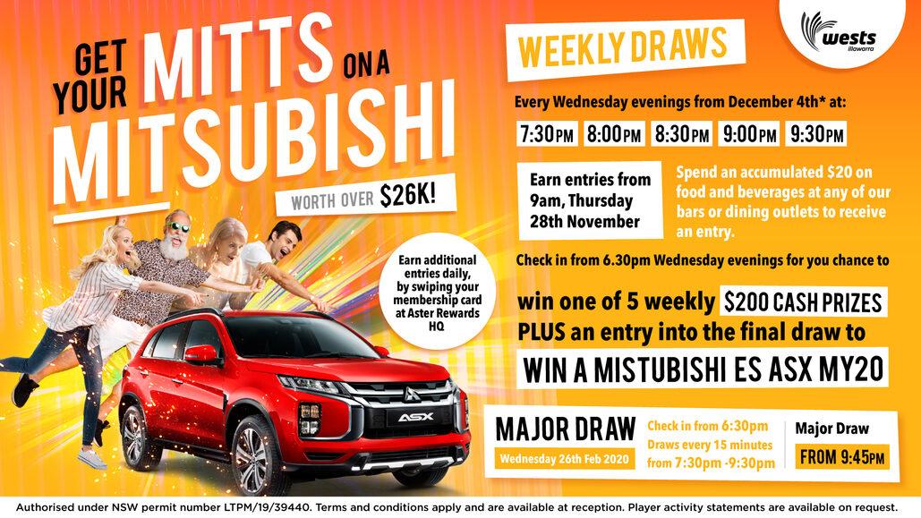 WIN a Mitsubishi