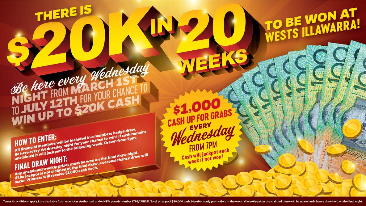 $20k in 20 weeks